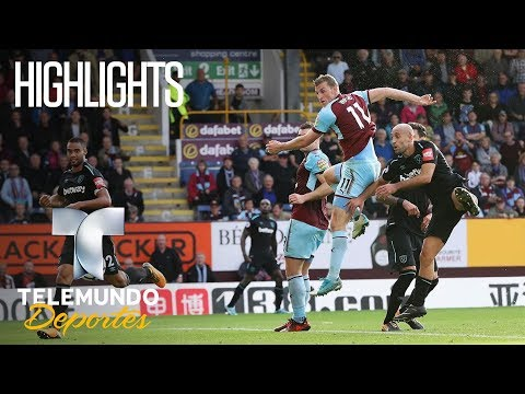 Burnley 1 - West Ham United 1 Highlights