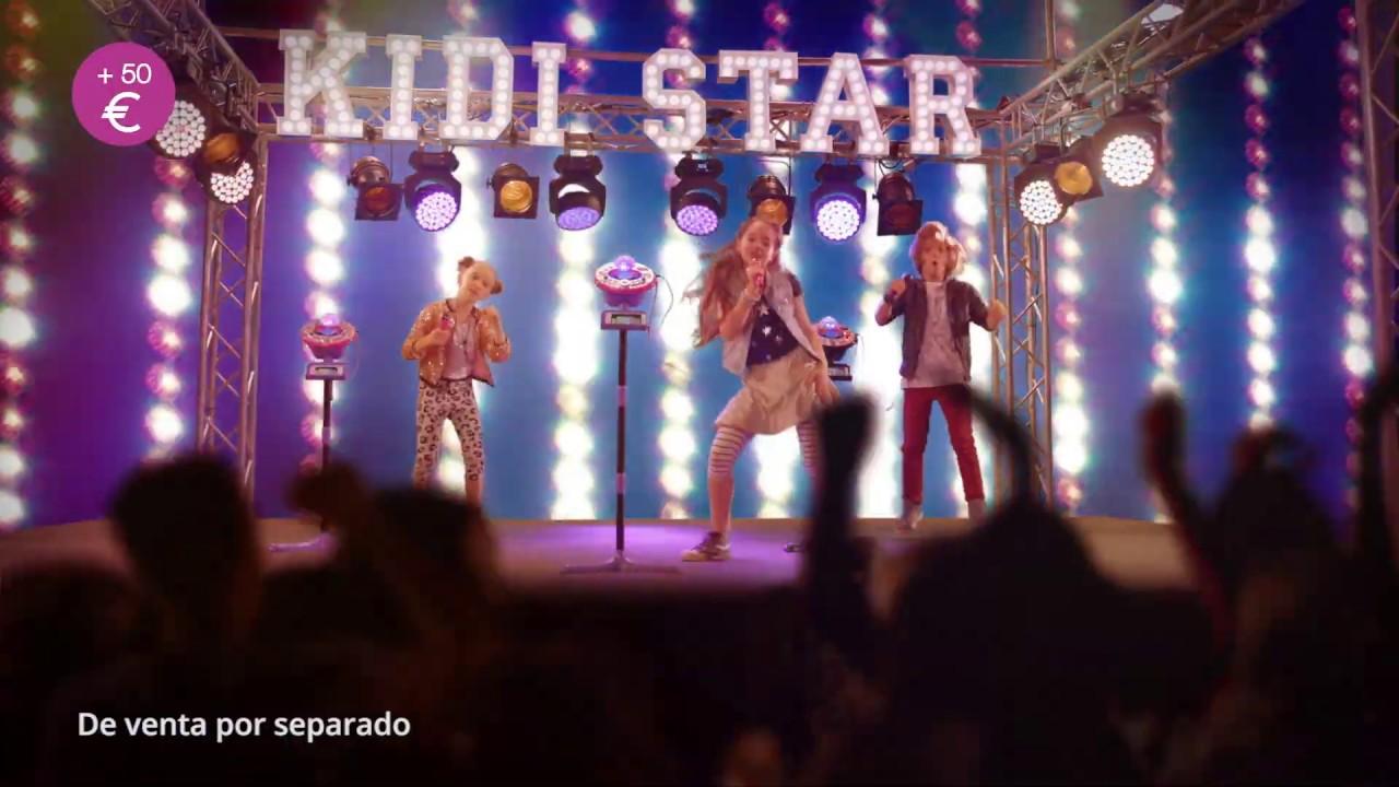 Grabaci/ón de Voz Modo Concierto Karaoke Infantil Kidi Superstar LightShow Rosa Micr/ófono Karaoke VTech