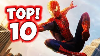 Top 10 Spider-Man Suits In Spider-Man PS4 - 38 Suits!