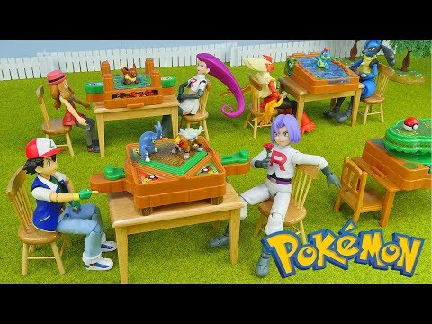 Download Youtube: Pokemon Rare Toys - Battle Jungle Game - 4 Packs Unboxing Opening