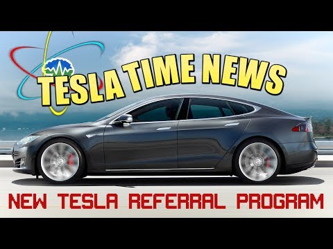 Tesla Time News - New Tesla Referral Program