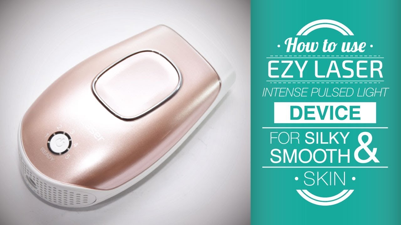 Ezy Laser Permanent Hair Removal Skin Rejuvenation And Removing Freckles For Home Use