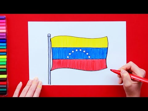How to draw the National Flag of Venezuela