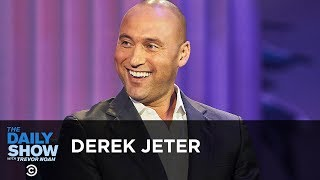 Derek Jeter - Reshaping the Miami Marlins and Giving Athletes a Voice | The Daily Show