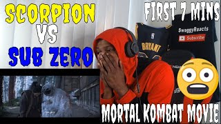 Mortal Kombat Movie First 7 Minutes 2021 Reaction  Scorpion Vs Sub-zero