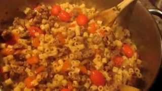 Cooking W/ Gradysmom13: Simple Kale & Sausage Pasta
