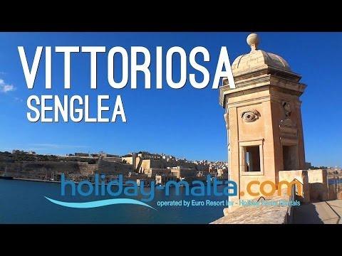 Vittoriosa, 3 cities of Cottonera , Senglea, Birgu, L-isla and Valletta Malta 2014