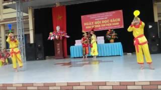 Tiểu phẩm : Sơn Tinh Thủy Tinh do học sinh Tiểu học Kiền Bái  biểu diễn