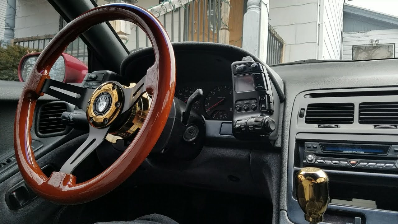 How To Install Horn W Aftermarket Nrg Quick Release Grip Royal Jeep Wrangler Button Wiring Steering Wheel Easy