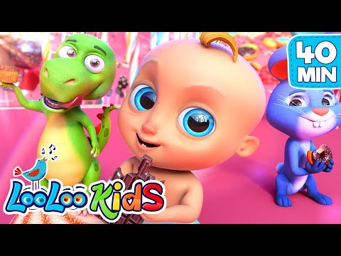 LooLoo – Chocolate – and the best children songs from LooLoo Kids Nursery Rhymes – Cantece pentru copii in limba engleza
