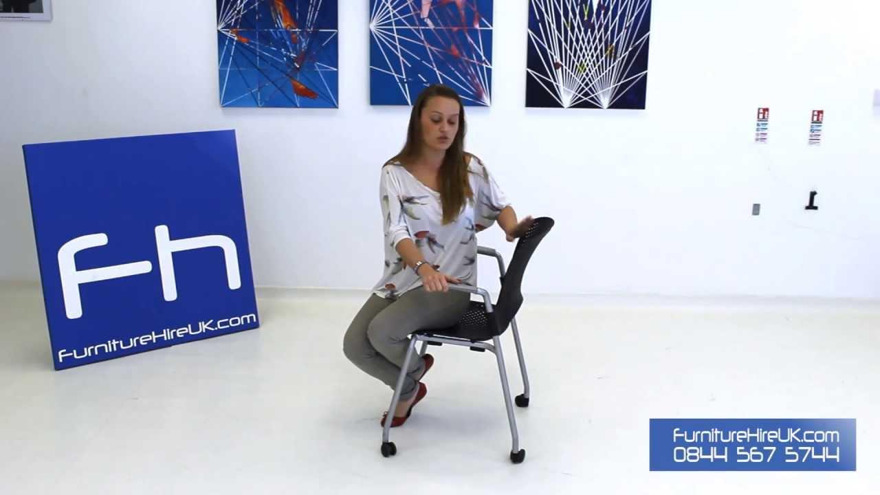 Herman Miller Caper Chair Demo - Furniture Hire UK