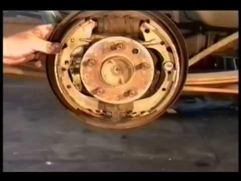 Toyota Truck  Rear Brakes Pt2  YouTube