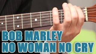 Partitions guitare BOB MARLEY - No Woman no cry