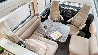 luxury motorhome Hymer SupremeLine Luxury on wheels Made in Germany