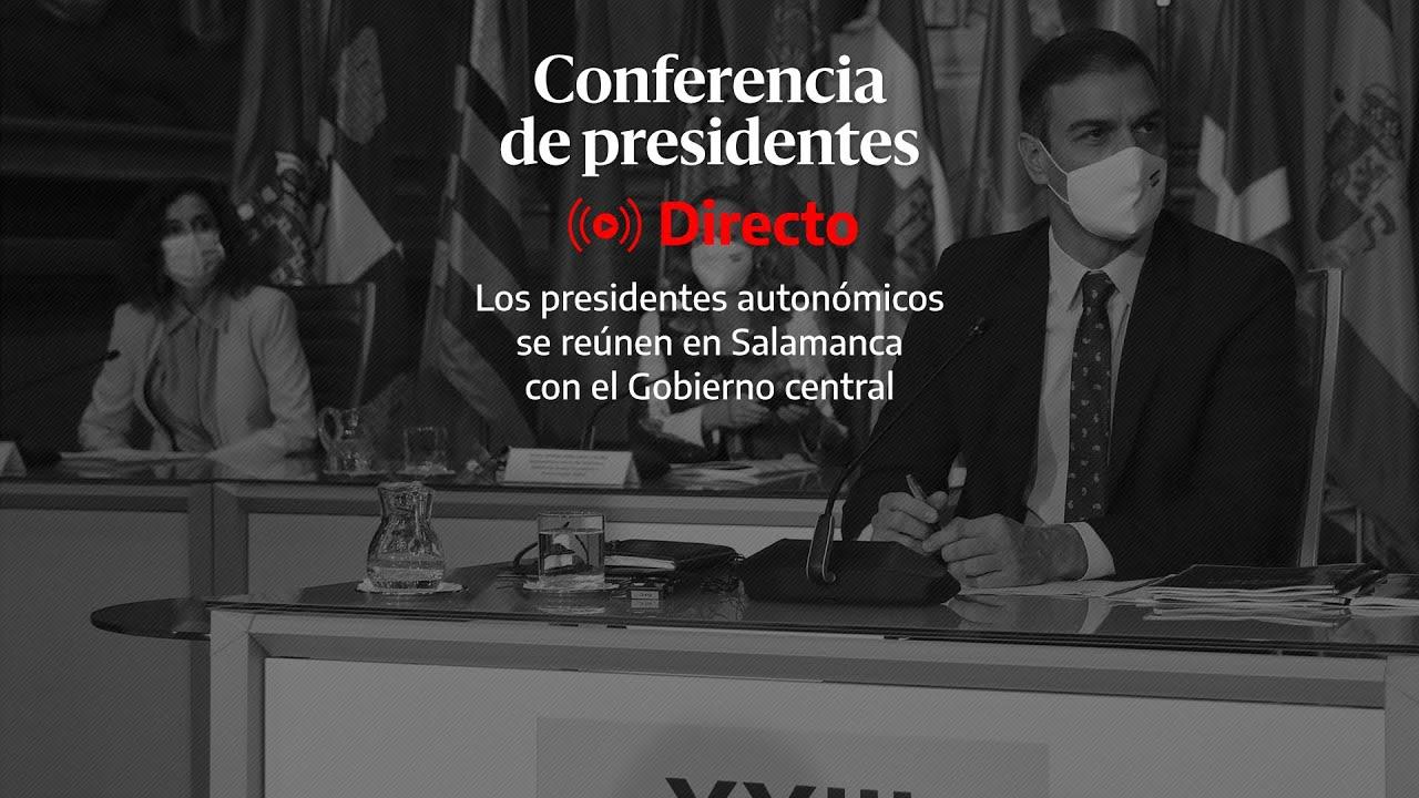 🔴 DIRECTO | Ruedas de prensa de los presidentes autonómicos tras la Conferencia de Salamanca