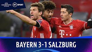 Bayern Munich v Salzburg (3-1) | Champions League Highlights