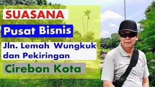 Suasana Pusat Pertokoan Jalan Lemah Wungkuk Kota Cirebon