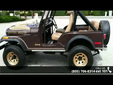 1977 Jeep CJ7 - AMV Trading LLC - Ventura, CA 93001 - YouTube