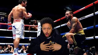 THE FIGHT WE'VE BEEN WAITING FOR!! MANNY PACQUIAO VS LUCAS MATTHYSSE HIGHLIGHT REACTION