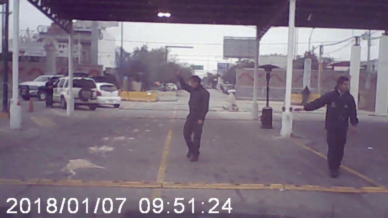 Border crossing at Laredo, TX (Bridge #2)