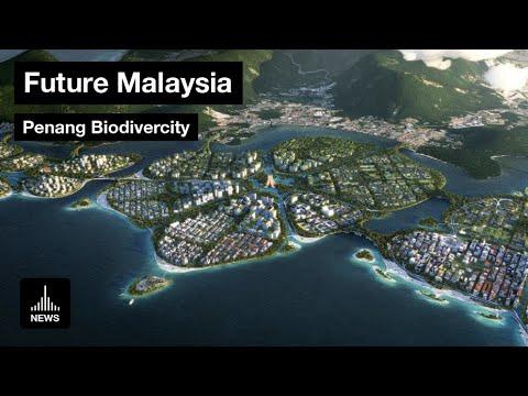Future Malaysia - Penang Biodivercity by Bjarke Ingels