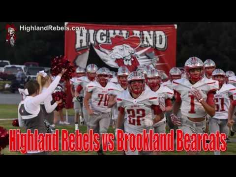 Highland Senior Rebels vs Brookland Bearcats - 102618
