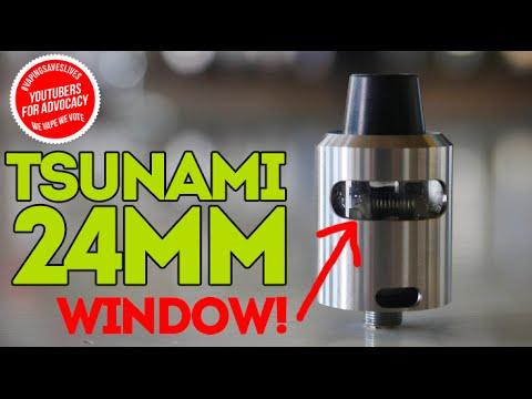 Tsunami 24mm + A WINDOW!
