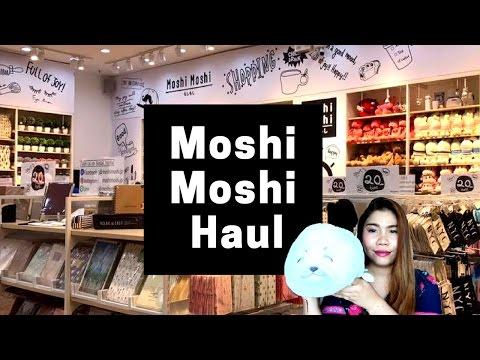 เปิดถุง Shopping ร้าน MOSHI MOSHI THAILAND   ต้อนรับสงกรานต์ 2017 | MOSHI MOSHI HAUL