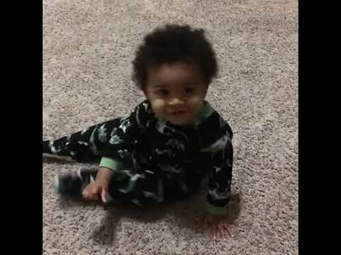 Joey Brooks - Toddler Gets Into Dance Off With Daddy