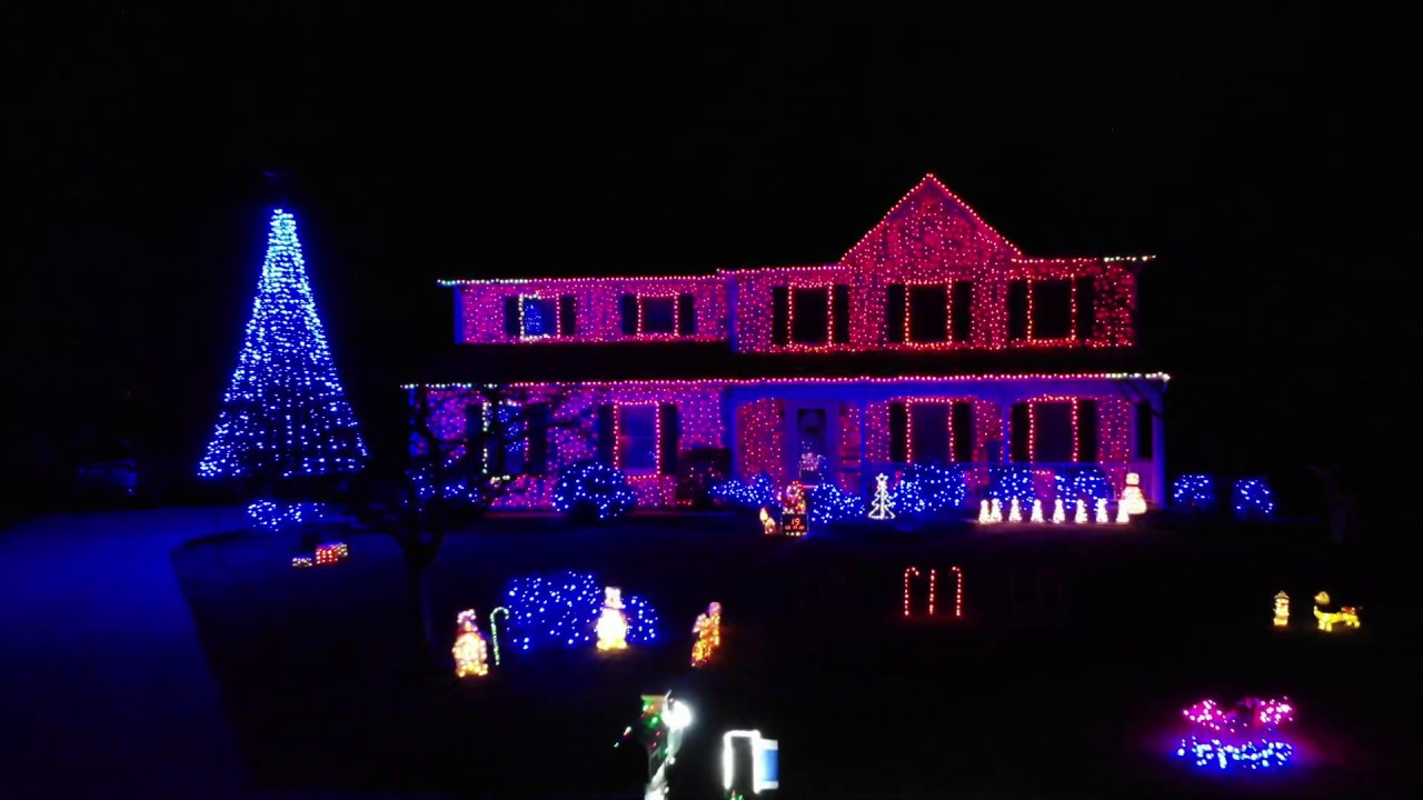 2019 Christmas Light Show To Christmas Is Starting Now By