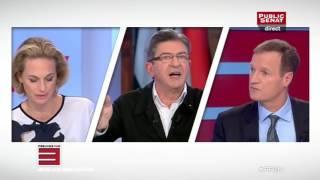 Mélenchon détruit et humilie les journalistes sur la Syrie