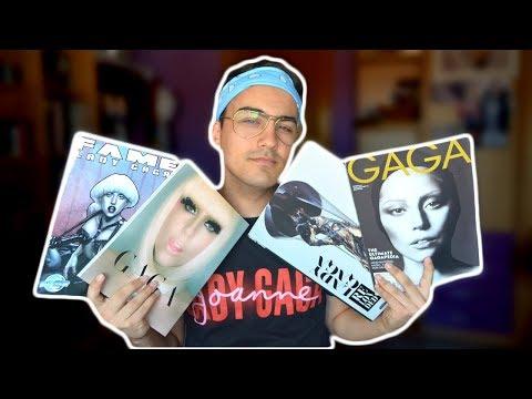 MI COLECCIÓN: Mis libros de Lady Gaga  JJ