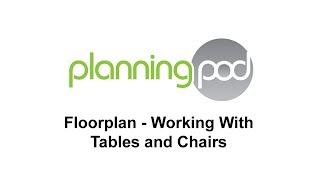 Online Table Plan Software - Working With Tables And Chairs