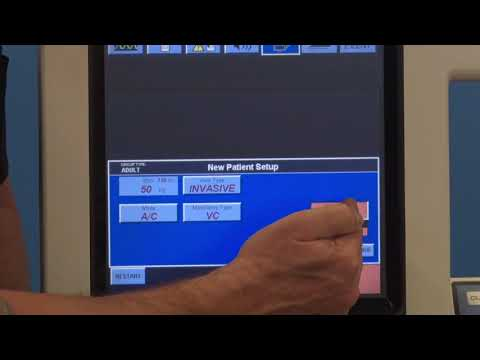 Puritan Bennett 840 Ventilator - GUI Interface