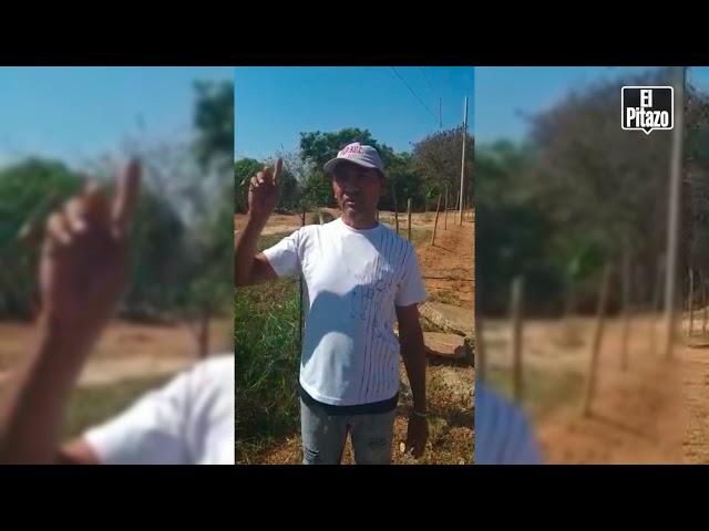 Vecinos de Santa Fe en Tinaquillo exigen recibir agua por tuberías