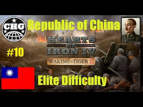 HOI4: Waking the Tiger - China #10 - Beginning of a Land War in Asia