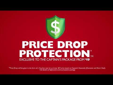 Flight Centre's Price Drop Protection