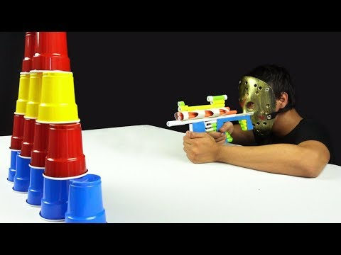 Jason DIY Paper Gun - How to Make a Paper Gun (Sniper Rifle)