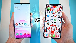 Samsung Galaxy Note 20 Ultra vs iPhone 11 Pro Max - Speed Test!