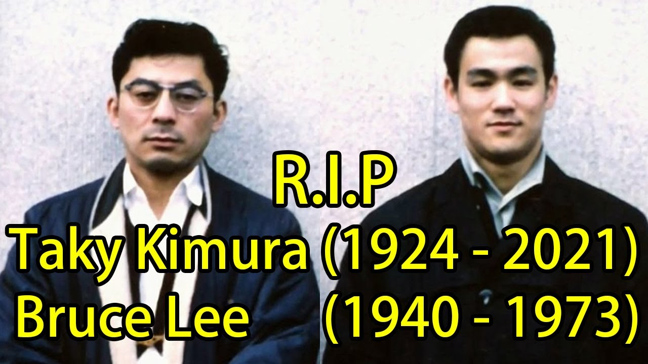 TAKY KIMURA Tribute | RARE Footage with BRUCE LEE