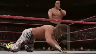 WWE 2K16 Showcase - Steve Austin - ч.4 - Камень и Глыба