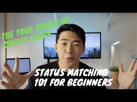 STATUS MATCHING 101 WITH CREDIT ( BEGINNERS)