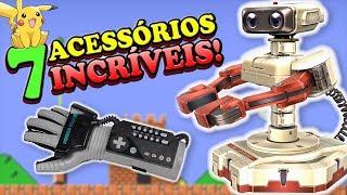 7 Acessórios REVOLUCIONÁRIOS da Nintendo!