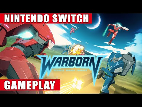 Warborn Nintendo Switch Gameplay
