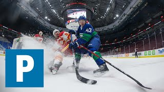 J.T. Miller and Quinn Hughes on Canucks 6-5 (OT) loss to the Calgary Flames | The Province