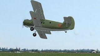 ラジコン飛行機 ソ連の複葉機 antonov2 アントノフ2 リアルフライト6.5 RealFlight An-2