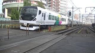 E257系特急あずさ21号松本行 東中野通過