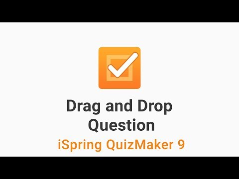 How to Create a Drag and Drop Question
