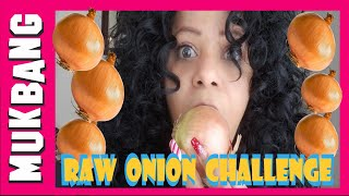 Raw ONION Challenge | Mukbang Eating Show | Chit Chat
