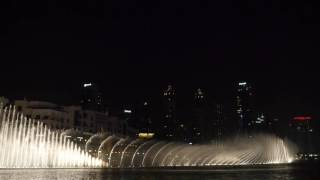 The Dubai Fountain: Walk on the Wild Side (Lou Reed)